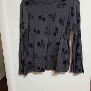 Ann Taylor Loft Grey Sweater